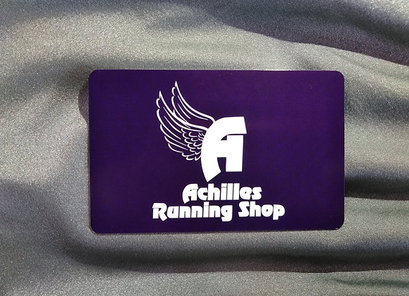 Achilles Running Shop Gift Card - 25
