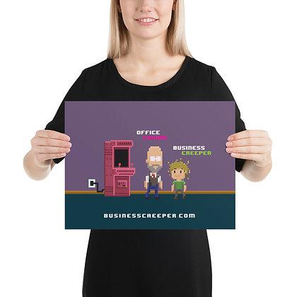 Pixel People Poster