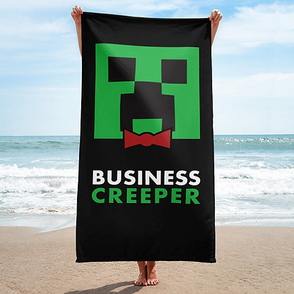 Creeper Beach Towel