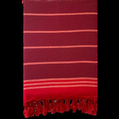 Cinnamon- Maroon Turkish Towel
