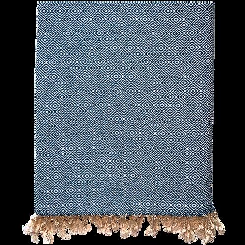 Crystalline - Blue Turkish Towel