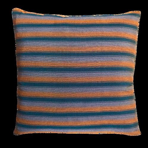 Vegan Silk Cushion - Sunset