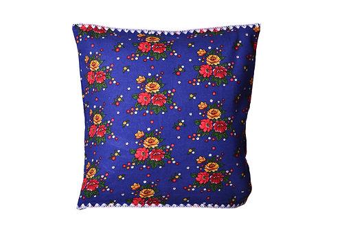 Indigo Pazen Cushion
