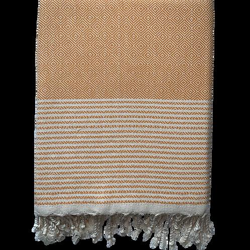 Crystalline - Yellow Turkish Towel