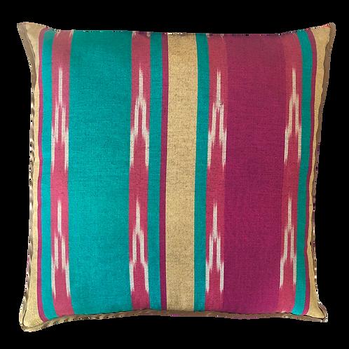 Vegan Silk Cushion - Bloom