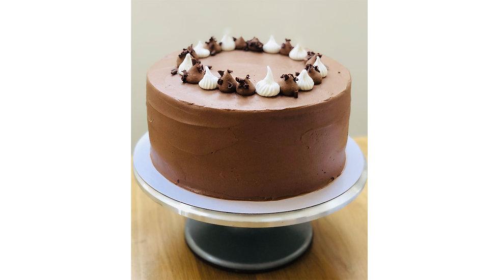 Full Chocolate Layer Cake