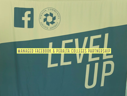 Managed Peralta Community Colleges District and Facebook Partnership