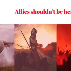 Allyship is Not the Hero's Journey