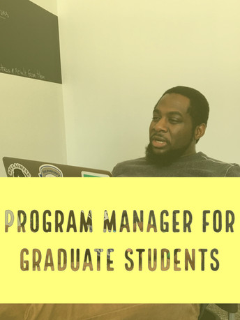 Program Manager at UC Berkeley for Graduate Students