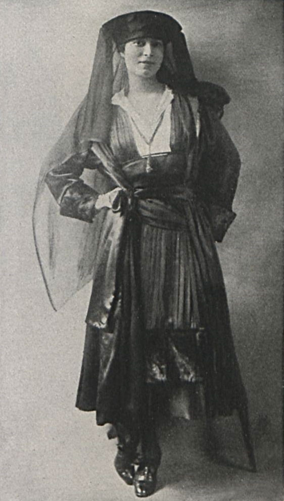 Renee succeeded Lefranc after her 1914 death. This photo of Renee was taken in 1916. Vogue Archive.