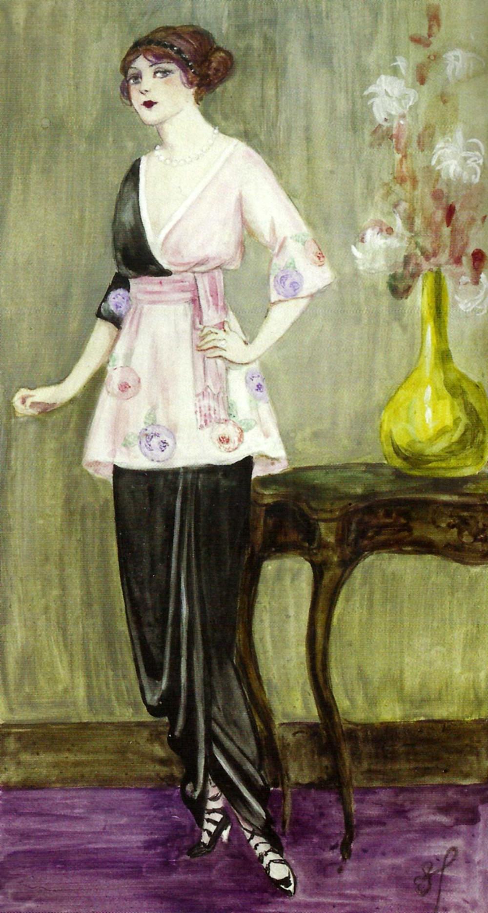 Handley-Seymour's adaptation of Poiret's Sorbet.