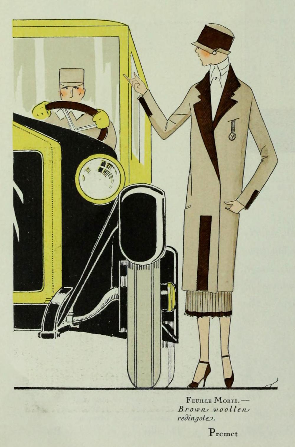 Premet suiit. From Art Gout Beaute, 1924.