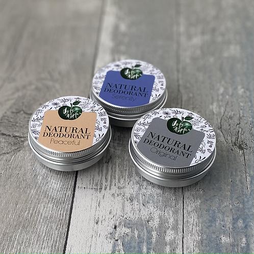 30ml Natural Deodorants