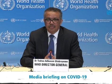 Tres millones de muertos en el mundo por COVID 19: OMS