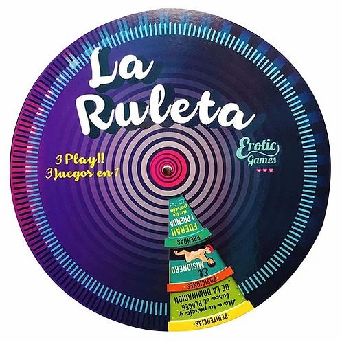 Juego Erótico de Mesa - La Ruleta Erótica 3 Play