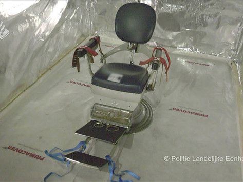 Encuentran macabra sala de torturas en Amberes, Bélgica