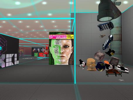 Retrospettiva su Second Life 2006 - 2012 . Opening 19 Marzo  p.v.  h. 21,30, Uqbar, Craft, Opensim.
