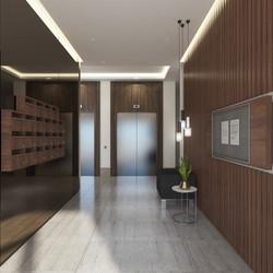 Apartman Giriş ve Asansör Holü