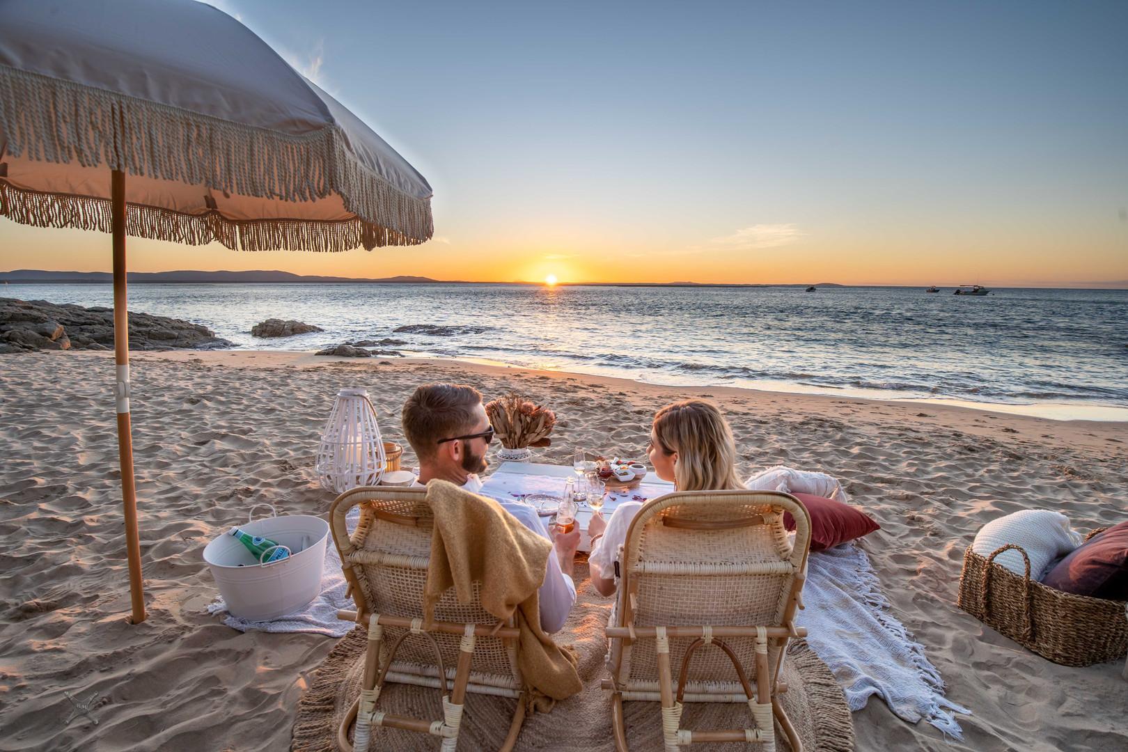 Coastal Rush Deluxe Sunset Picnic