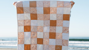 Quilting Diary: Entry 1 - Pink Gold Mini Quilt