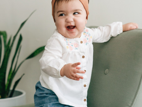 A day in the life with an 11-month old