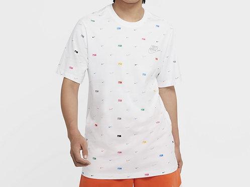 Nike T-Shirt Sportswear Print (CW0477-100)