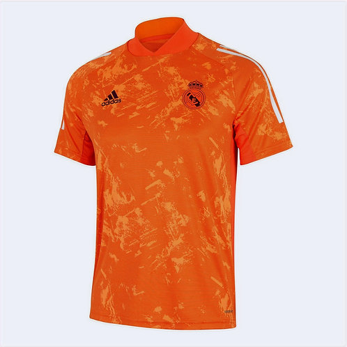 Adidas Maillot Training Real Madrid Orange (GM0533)