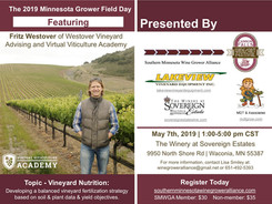 Vineyard Nutrition Featuring Fritz Westover