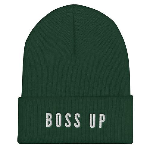 Boss Up Cuffed Beanie