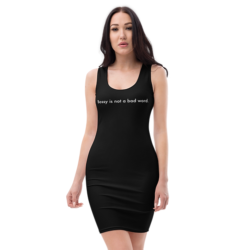 Not a Bad Word Bodycon Dress