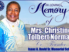 Christine Augusta Tolbert Norman