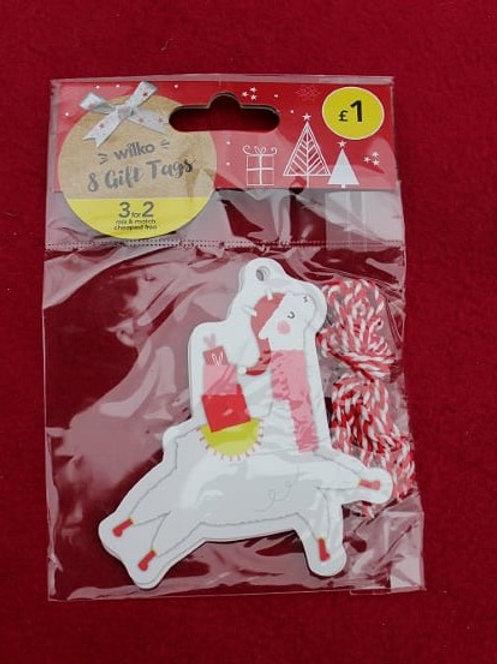 Lamas Gift Tags (8pcs)