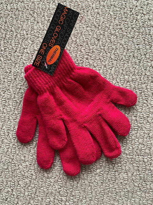 copy of Thermal Children's Gloves One Size - Pink (07976975903)