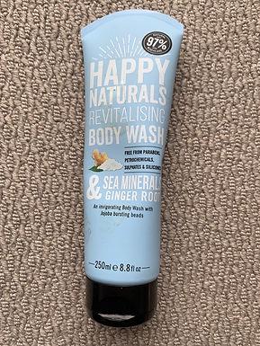 Happy Naturals Body Wash 250ml (07976975903)