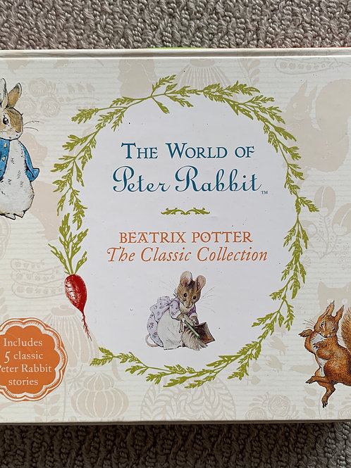 The World of Peter Rabbit, Classic Collection x 5 books (07976975903)