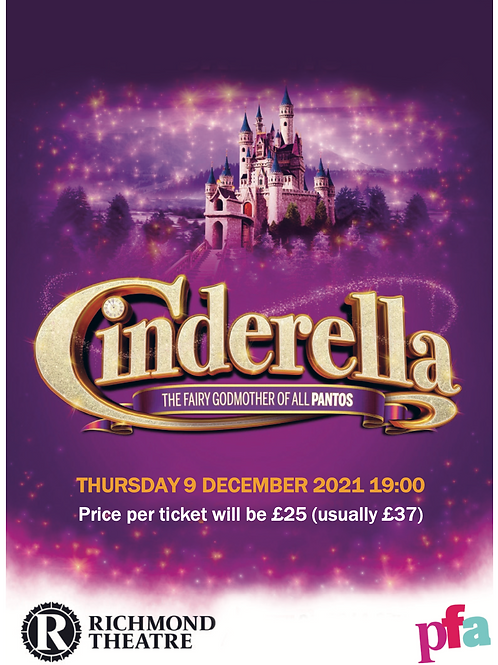 Cinderella Panto - Richmond Theatre, 9th December