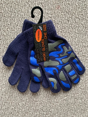 Thermal Children's Gloves One Size - Blue (07976975903)