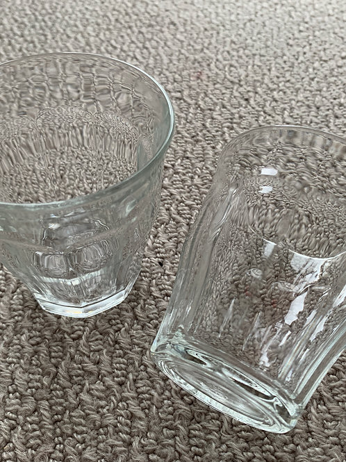 Glass Tumbles x 2 (07976975903)
