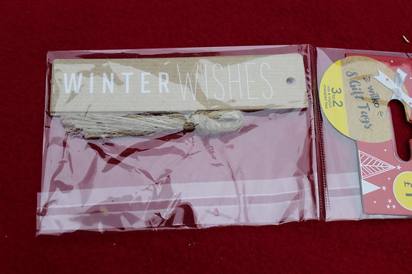 Winter Wishes Tags (8pcs)