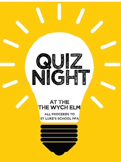 PFA Summer Quiz - The Wych Elm - 15th July 7:30pm for 8pm start