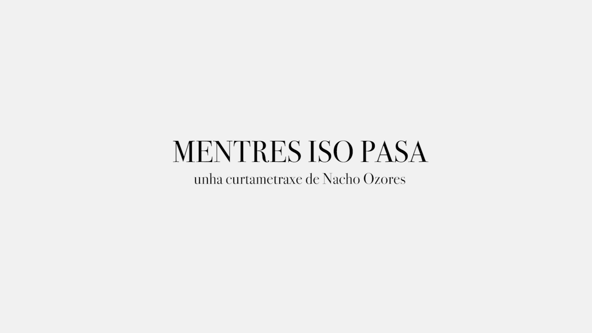 MENTRES ISO PASA