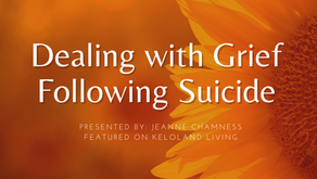 Dealing with Grief Following Suicide