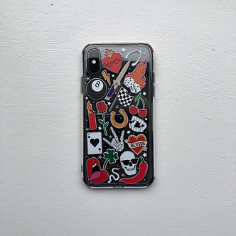 Tattoo Case (Custom Heart)