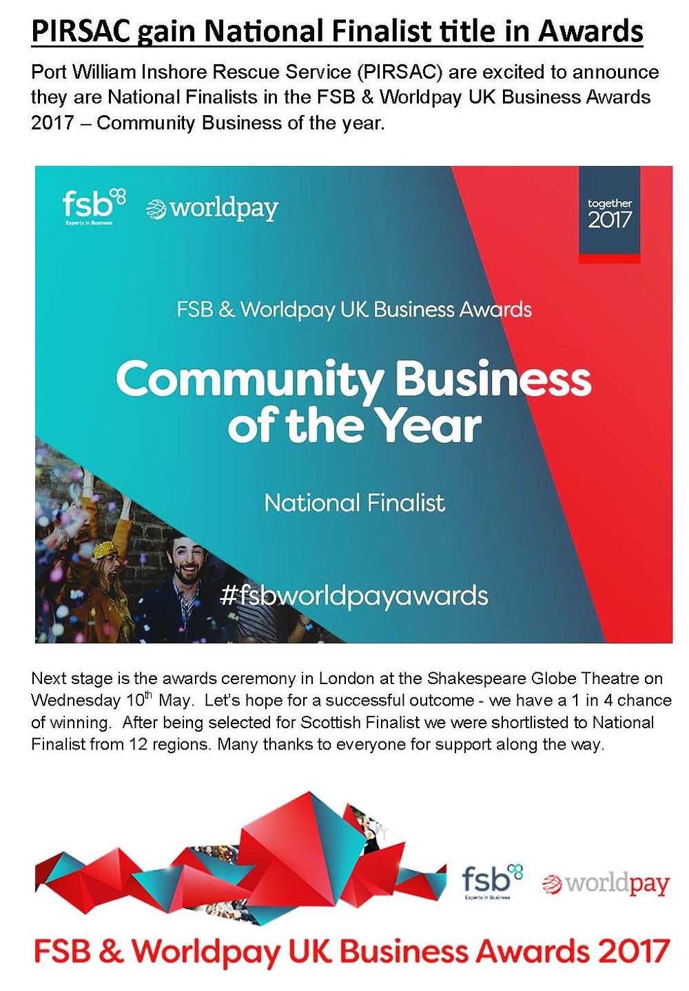 lots more info on the FSB website - http://www.fsb.org.uk/events/fsb-worldpay-uk-business-awards-2017