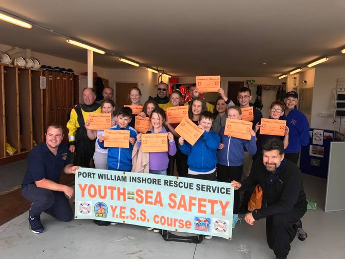 YOUTH=SEA SAFETY COURSE TEACH GUIDES AND SCOUTS