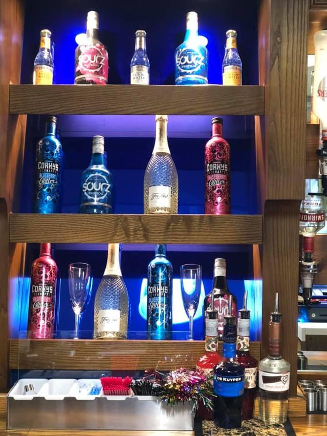 New bar at The View