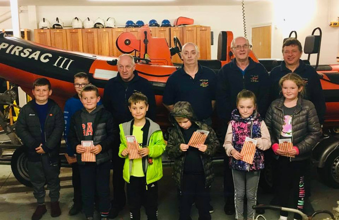 Whithorn Boys Brigade Visit