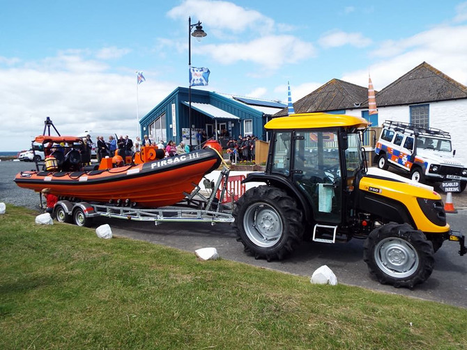 Opening of building and blessing of lifeboat