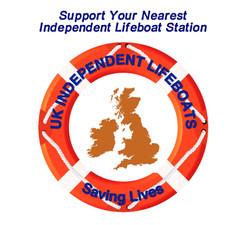 Independent lifeboat logo