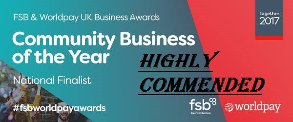 Highly Commended Title in UK Awards